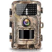 "Campark Wildkamera 12MP 1080P FHD Jagdkamera 2.4"" Farbe LCD 120°Weitwinkel Vision Low Glow Infrarote 22M/75FT, 42pcs IR LEDs Wasserdicht IP56"