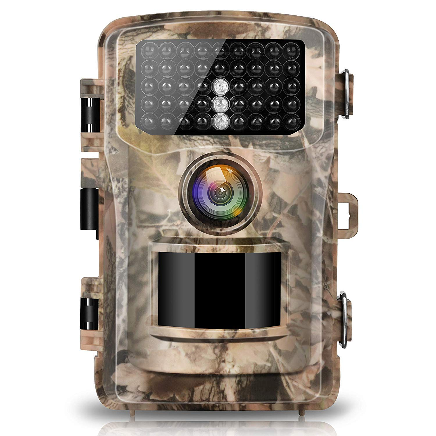 Campark Trail Camera 14MP 1080P 2.4'' LCD Game & Hunting Camera with 42pcs IR LEDs Infrared Night Vision up to 75ft/23m IP56 Waterproof for Wildlife Animal Scouting Digital Surveillance by Campark