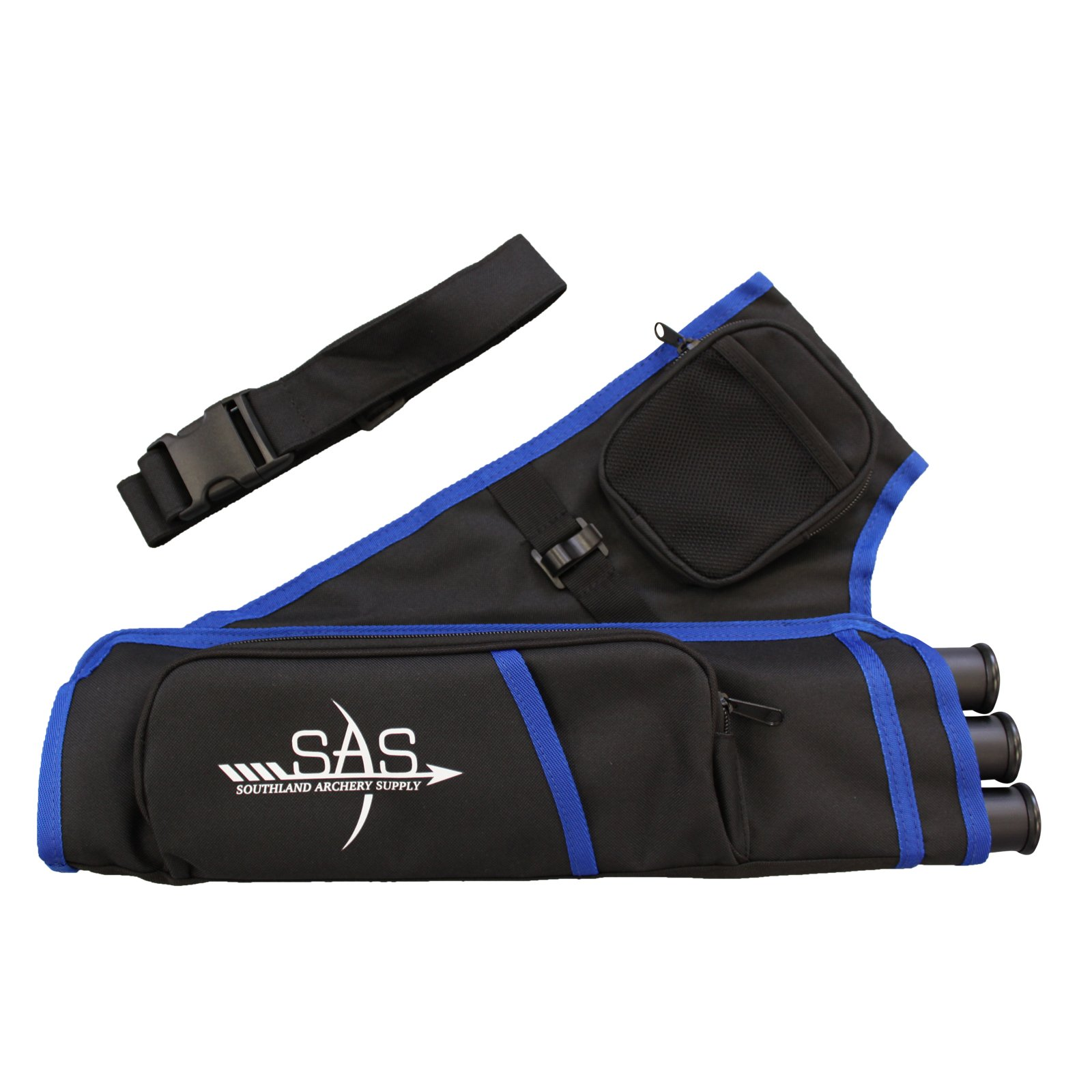 Southland Archery Supply SAS 3 Tube Target Quiver (Blue)