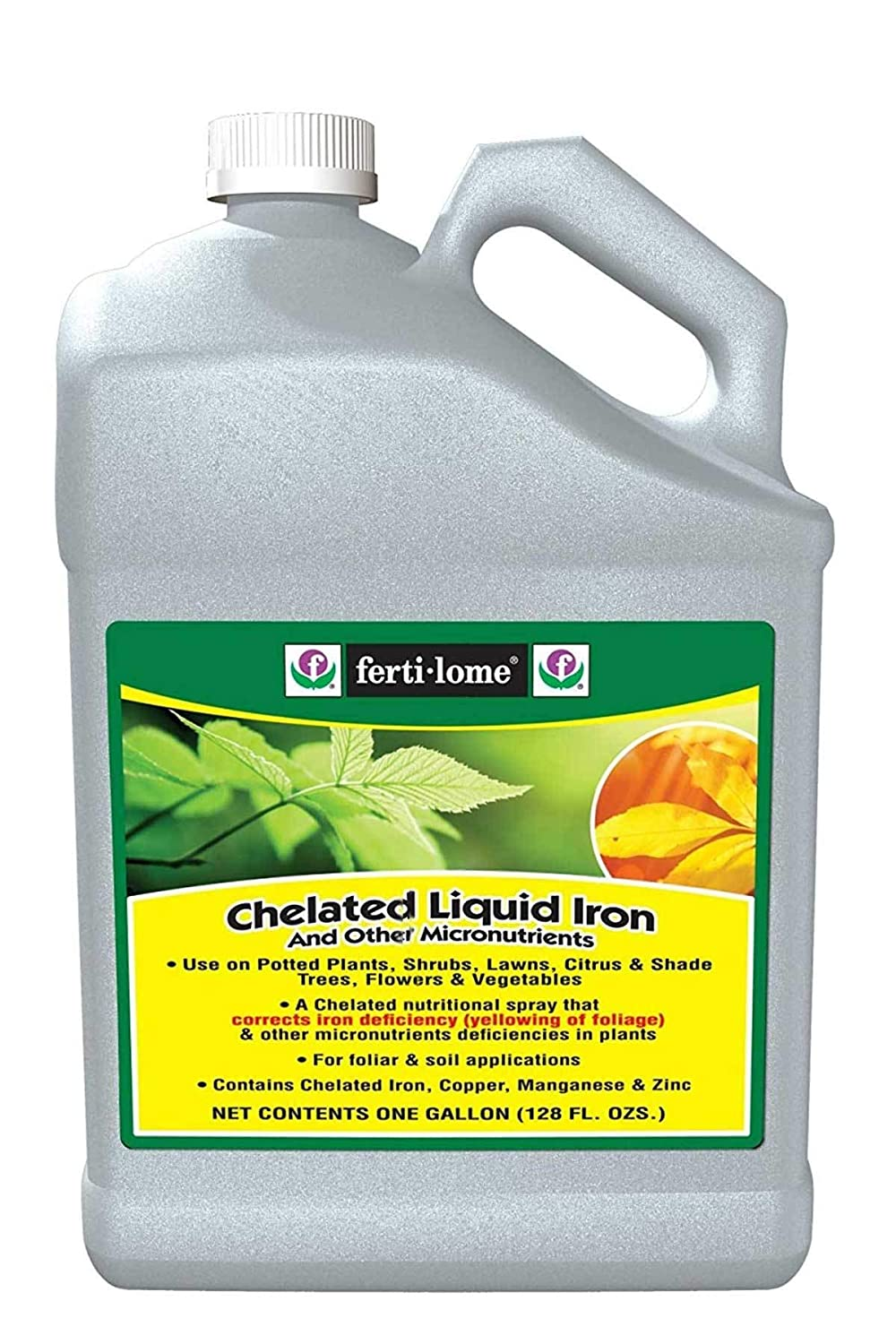 Fertilome Chelated Liquid Iron, 1 Gallon