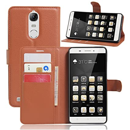 Amazon.com: Lenovo k5 Note Case–Manyip PU Leather Stand ...