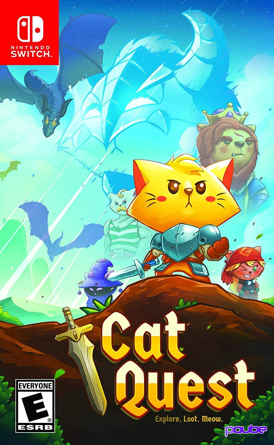 Amazon com: Cat Quest - Nintendo Switch: Ui Entertainment