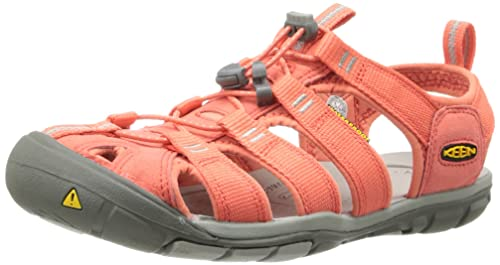04174fcbf8b KEEN Clearwater CNX W-Hot Coral Drizzle - Sandalias Mujer  Amazon.es   Zapatos y complementos