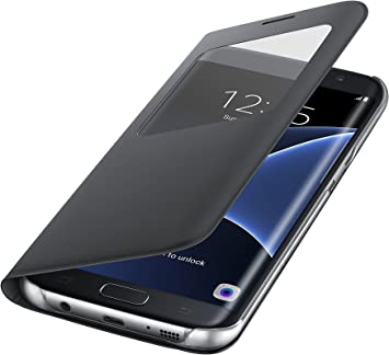 Samsung S View Cover - Funda para Samsung Galaxy S7 Edge ...