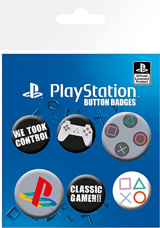 Playstation GB Eye LTD Pack de Chapas Clasica