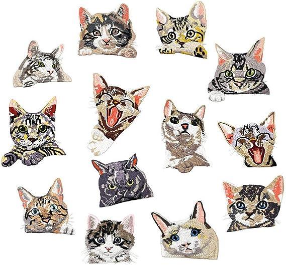 Cat Patch Iron On Patch Celtic Cat Celtic Cat Applique Cat Embroidered Celtic Cat Iron On Patch Iron On Applique