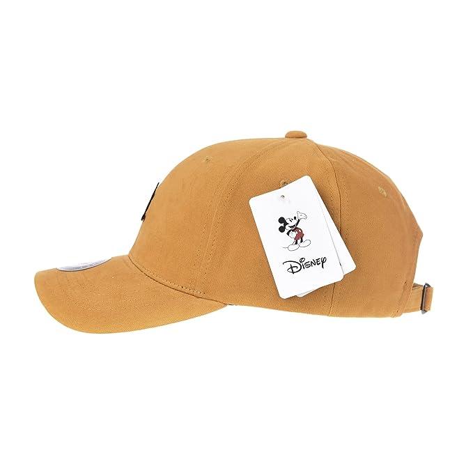 WITHMOONS Gorras de béisbol Gorra de Trucker Sombrero de Disney Mickey  Mouse Baseball Cap Metalic Patch Hat CR1876 (Yellow)  Amazon.es  Ropa y  accesorios 7babb39fd80