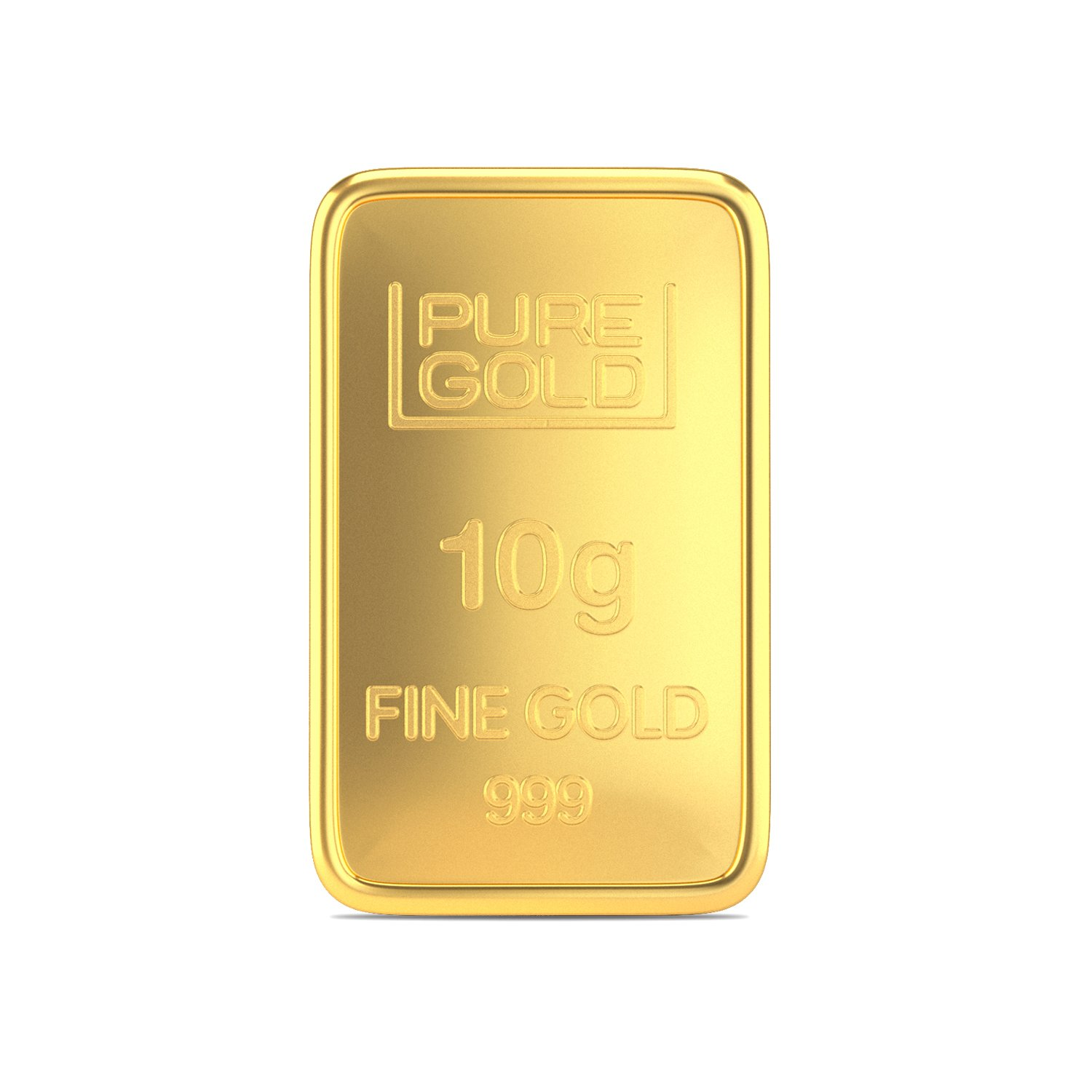 Buy Joyalukkas Assayer Certified 10 Grams 24k 999 Yellow Gold Precious Gold Bar Online At Low Prices In India Amazon Jewellery Store Amazon In