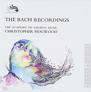 Grabaciones De Bach - Edición Limitada: Christopher Hogwood, Johann Sebastian Bach: Amazon.es: Música