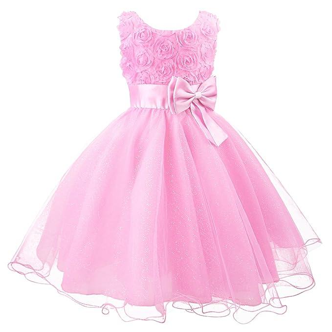 Muchachas de flor de boda formal de ropa de dama de fiesta de ...