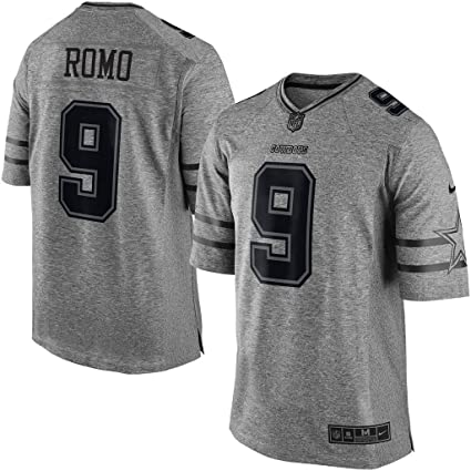 Image Unavailable. Image not available for. Color  NIKE Men s Dallas  Cowboys Tony ROMO Gridiron Gray Limited Jersey 8969d4341