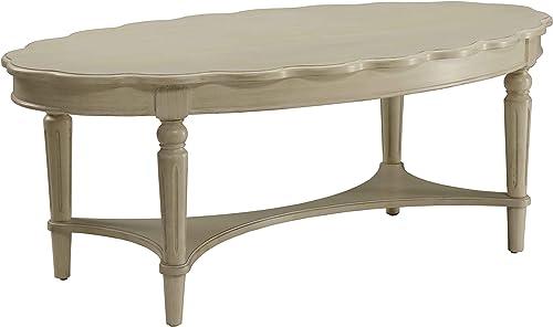ACME Fordon Antique White Coffee Table