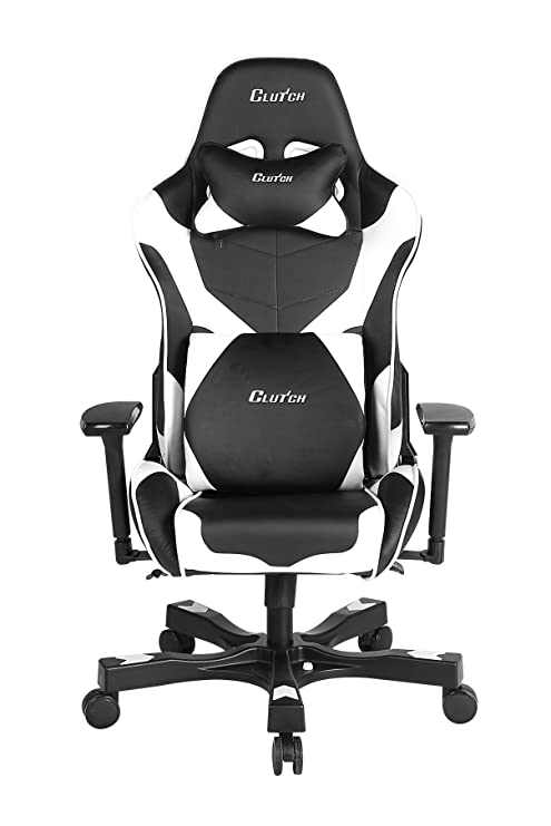 Strange Clutch Chairz Crank Series Echo Gaming Chair White Pdpeps Interior Chair Design Pdpepsorg