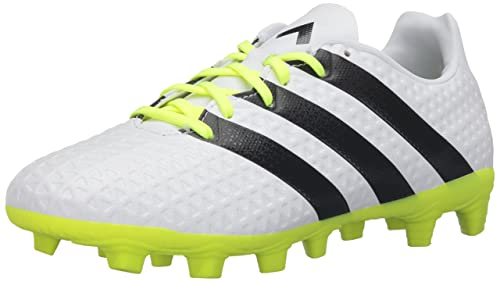 adidas Performance Women's Ace 16.4 Fxg W Soccer Shoe,  White/Black/Electricity,