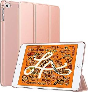 Dadanism iPad Mini 5 Case 2019, iPad Mini 4 Case - Slim Lightweight Rubber Coated Folio Case Stand Smart Hard Cover for iPad Mini 5th Generation 2019 7.9
