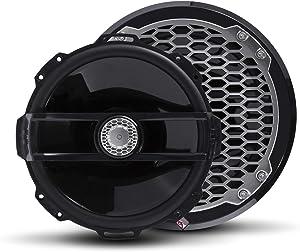 "Rockford Fosgate PM282B Punch Marine 8"" Full Range Speakers - Black (Pair)"