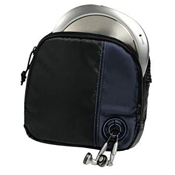 Hama CD Player Bag for CD Player and 3 CDs - Black/Blue: Amazon.co ...