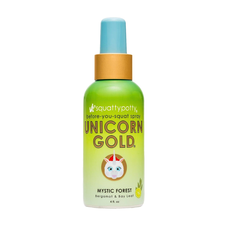 Squatty Potty Unicorn Gold Toilet Spray, 4 oz, Citrus Squeeze