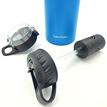 La respuesta | Hydro Flask Compatible filtro de agua botella sistema de filtro | pajita tapa