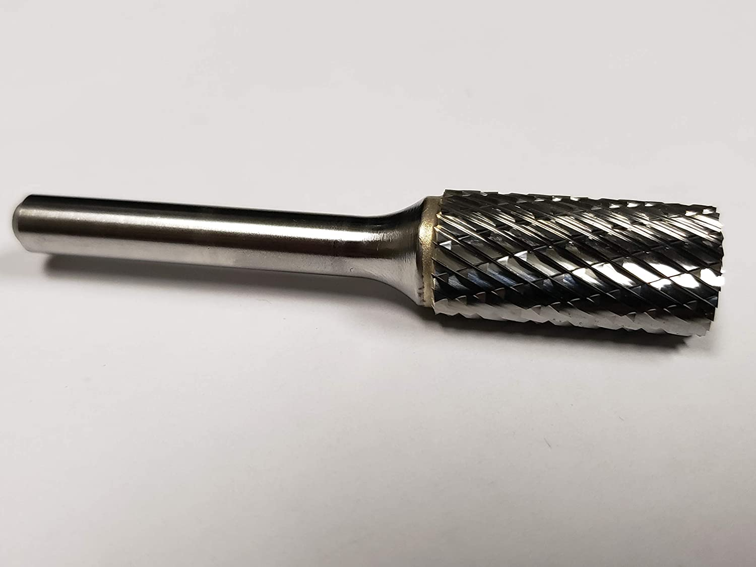 "SA-5 SA5D Cylindrical Carbide Burr Bur Cutting Tool Die Grinder Bit 1//4/"" USA"