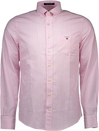 Gant 1503.361722 Camisa con Las Mangas largas Hombre Rose 656 S: Amazon.es: Ropa y accesorios