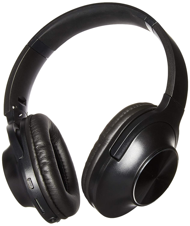 Wireless Headphones Premium Bluetooth Earphone Over Ear Hi-Fi Stereo Headset Soft Memory-Protein Earmuffs with Built-in Microphone