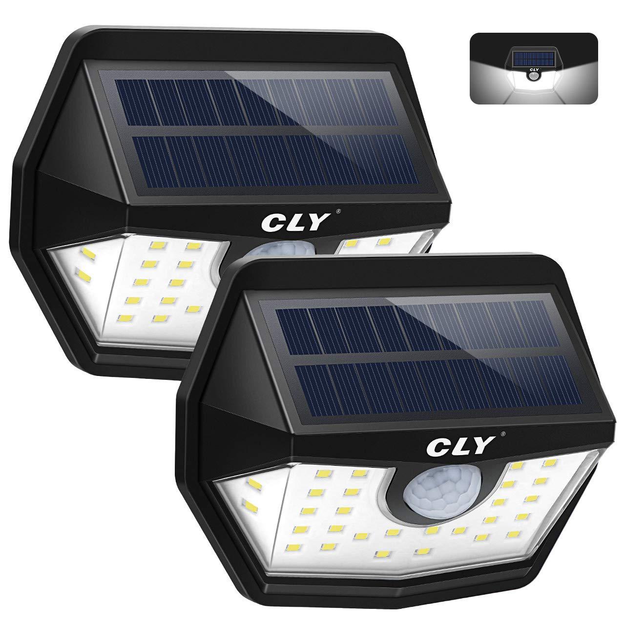 48LED Solarleuchte Wandleuchte Solarlampe Bewegungsmelder Außen Yard Wasserdicht