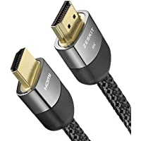 (6.5ft/ 2m) 8K HDMI Ultra HD High Speed 48Gbps Cable Compatible with Apple TV Roku Netflix PS4 Pro Xbox One X Samsung Sony LG