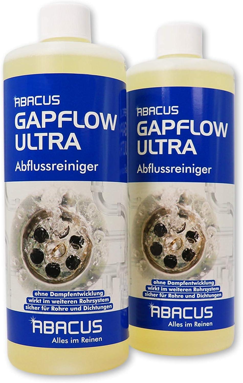 2x 1 L Gapflow Ultra Abflussreiniger Rohrreiniger 7052 Amazon De Drogerie Korperpflege