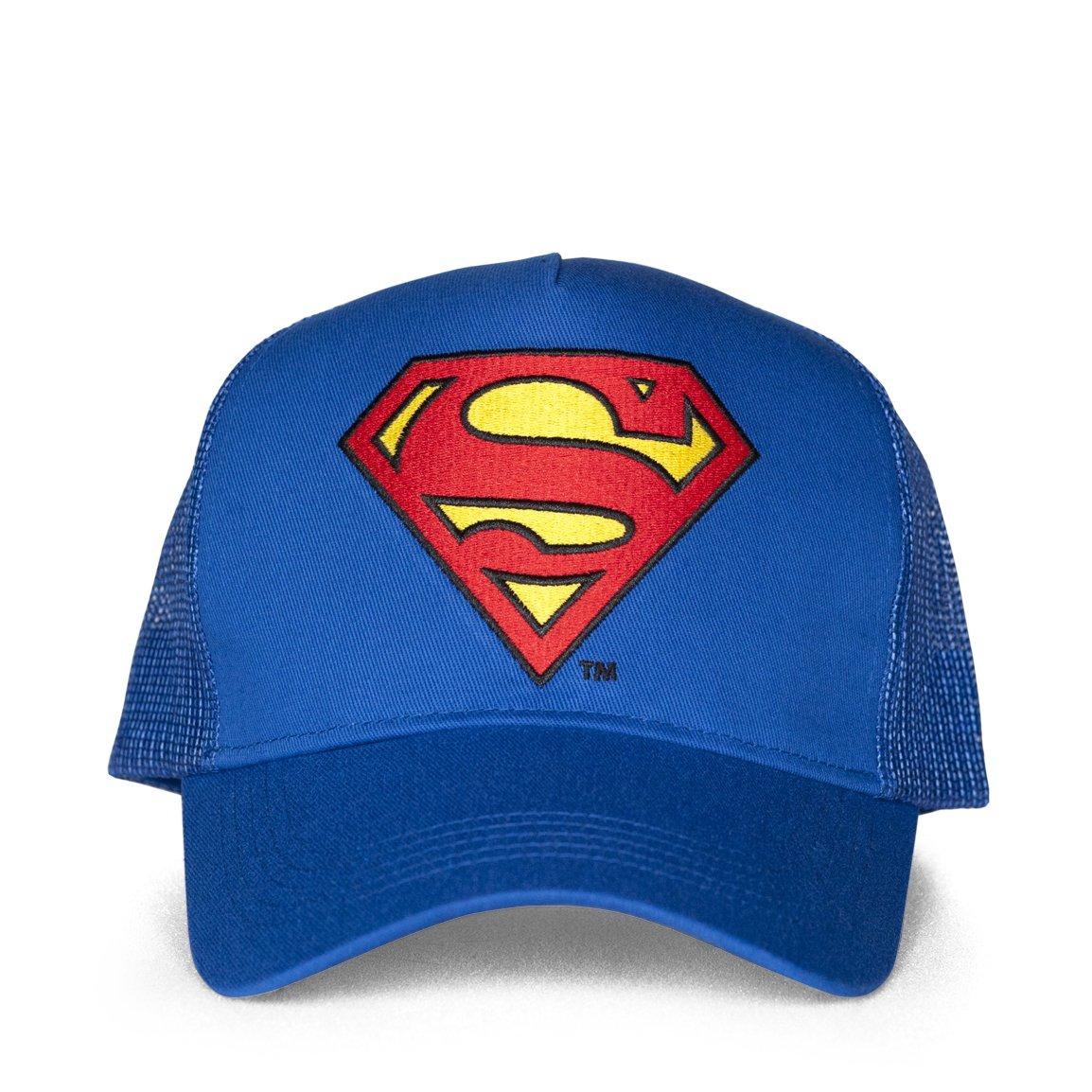 Taille Unique Mixte Adulte Superman Logo Casquette De Baseball Bleu Azur