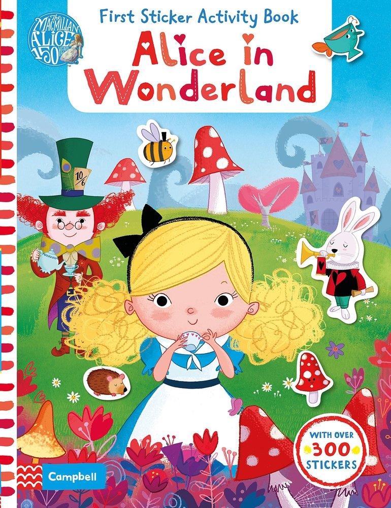 Read Online Alice in Wonderland: First Sticker Activity Book pdf