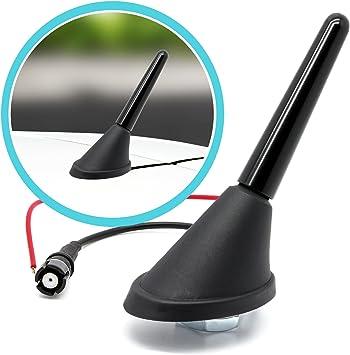 AERZETIX 2 adaptateurs Supports de Haut-parleurs Enceintes 130mm pour Auto Voiture C40680