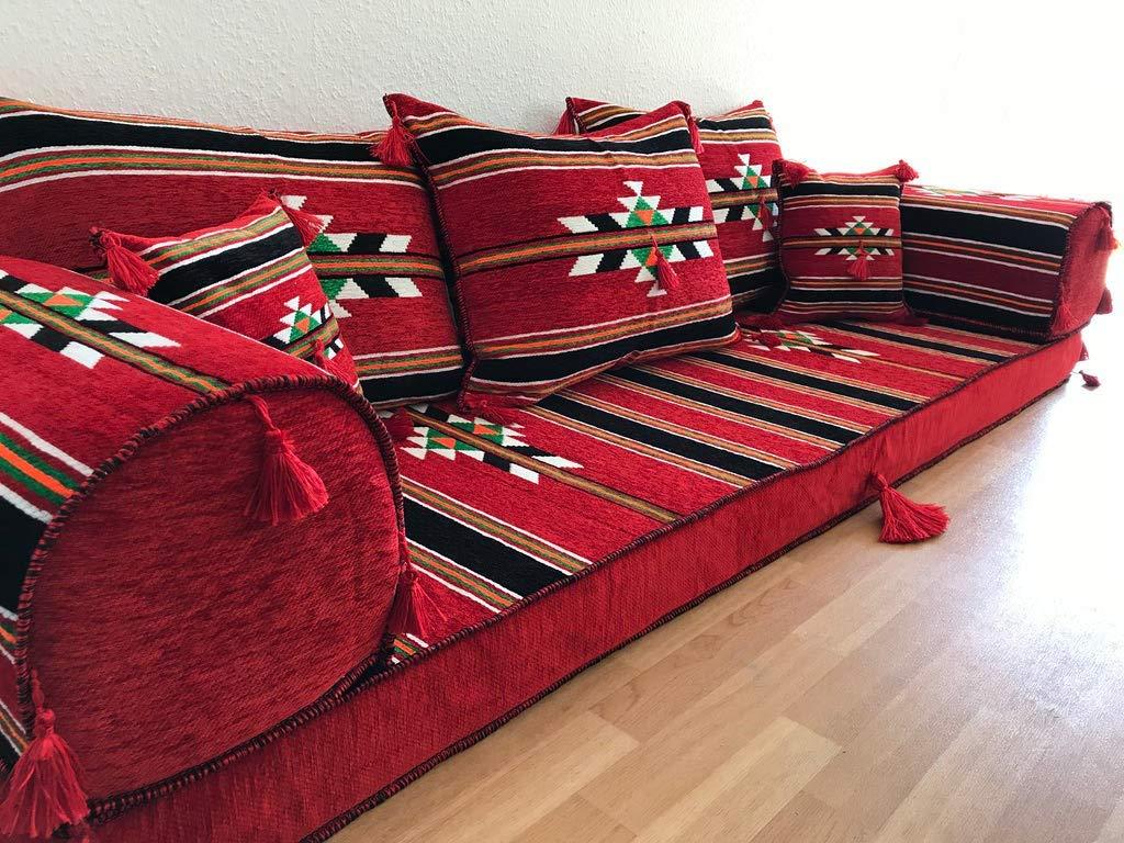 Orient-Designs Ofurniture,Oriental Seating,Arabic Seating,Floor Couch,Floor Cushions,Arabic jalsa,majlis,Hookah bar Decor The Original from Gulf Kilims,Orient Sofa