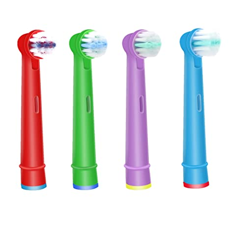 WuYan - Cabezal de cepillo de dientes Oral B para niños, cabezales de cepillo de