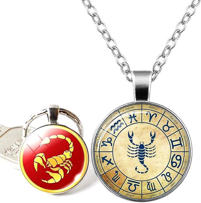 RagBear Constellation Necklace Gold Aries Cancer Gemini Artwork Art Activity