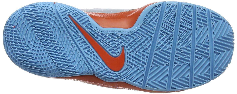 buy popular aa7a3 0556d Nike Baby Boys Hustle D 8 Sd Basketball Shoes, Multicolour (Pure Platinum  Team Orange Black 001), 6 UK 6UK Child  Amazon.co.uk  Shoes   Bags