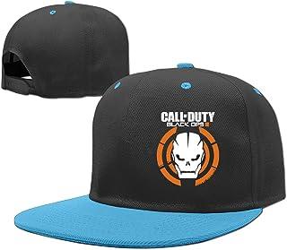 Nckg Call of Duty Black Ops III ventole Teenage tappi cappello regolabile, rosso