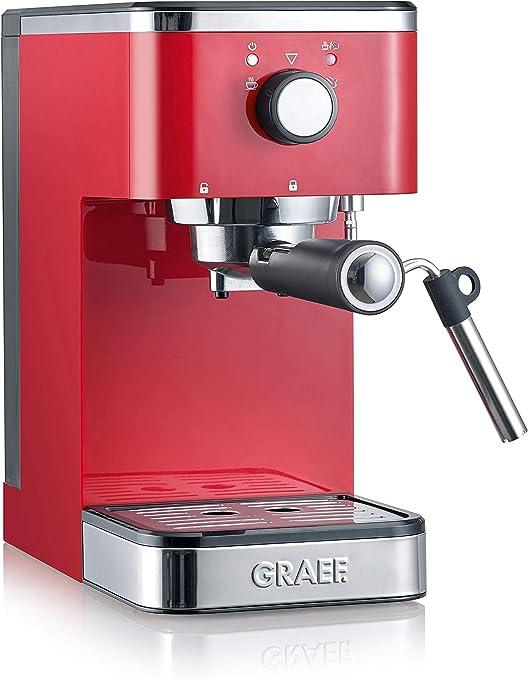 Graef Salita Cafetera expreso con soporte para filtro, 1400 W ...