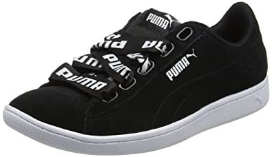 6a573671745655 Amazon.com  PUMA Women s Vikky Ribbon Bold Trainers  Shoes