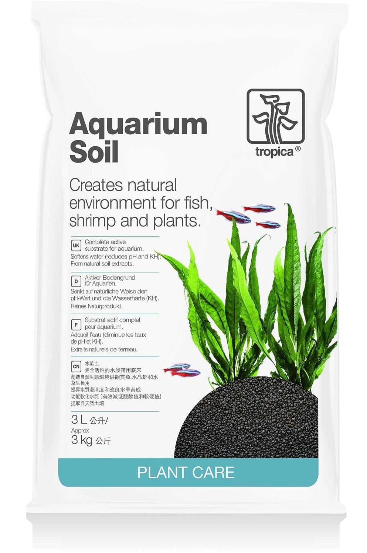 Tropica Plant Care Freshwater Planted Aquarium Soil 3 Liter Bag