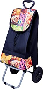 Dolphin Collection Market Trolley 47X31X21Cm - 30L