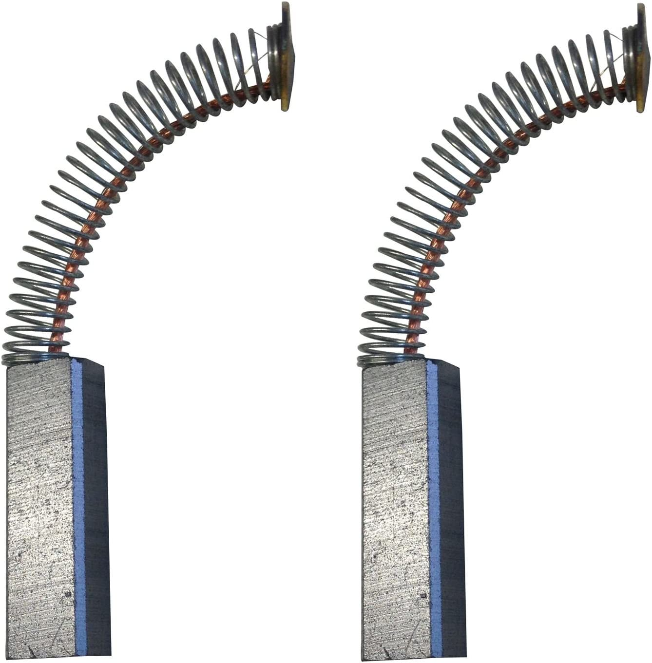 2x Carbon Brushes Use on Mixer Mixer Size - 5 X 7 X 22