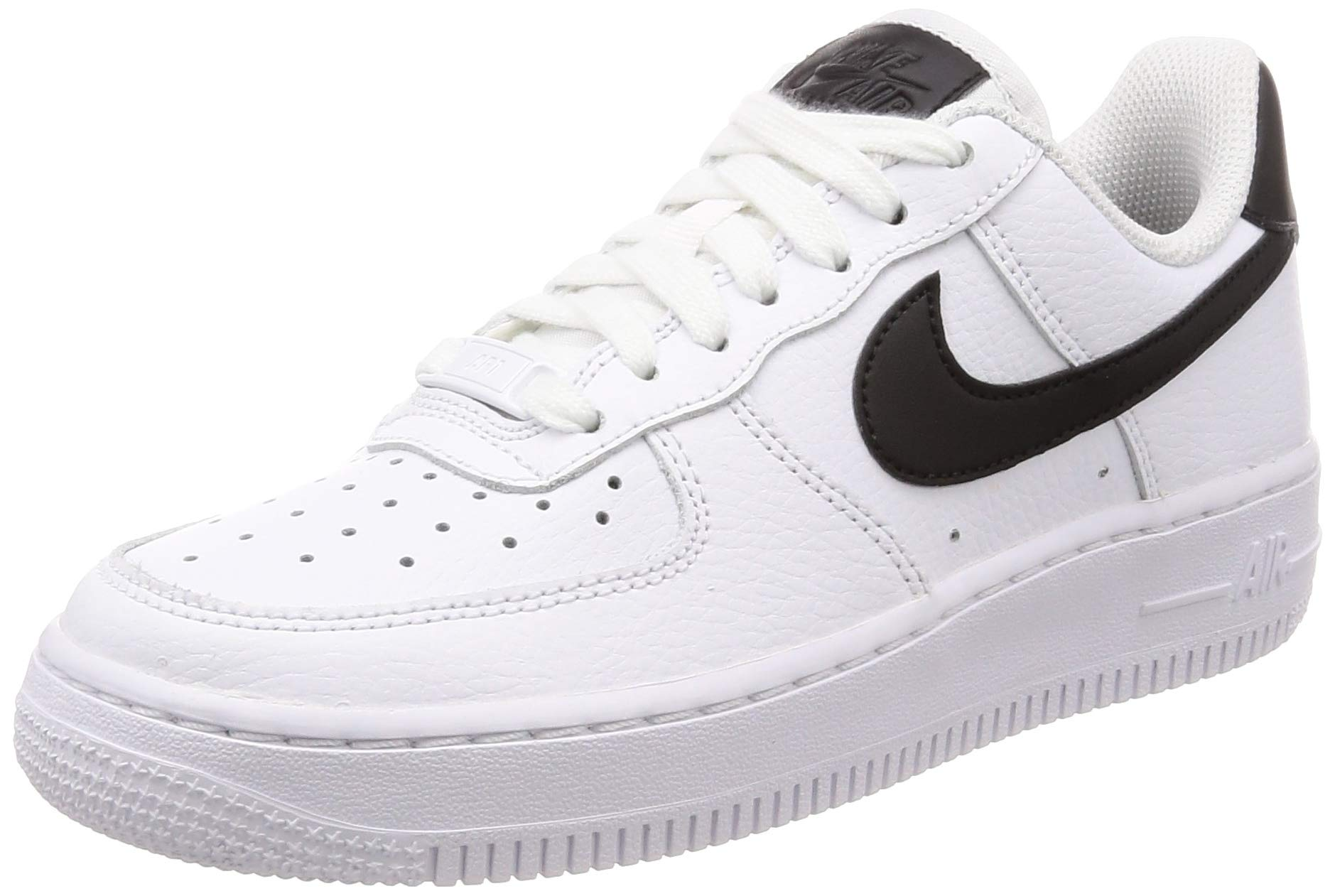 55790ad9 Nike Girls Air Force 1 LV8 (PS) Coral Stardust/Rusty Pink-White Sneaker  AH7529 600 (13.5 US Little Kid)