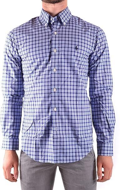 Polo Ralph Lauren SL BD PPC SP-LO 1526 Camisa, Mehrfarbig (Dark ...