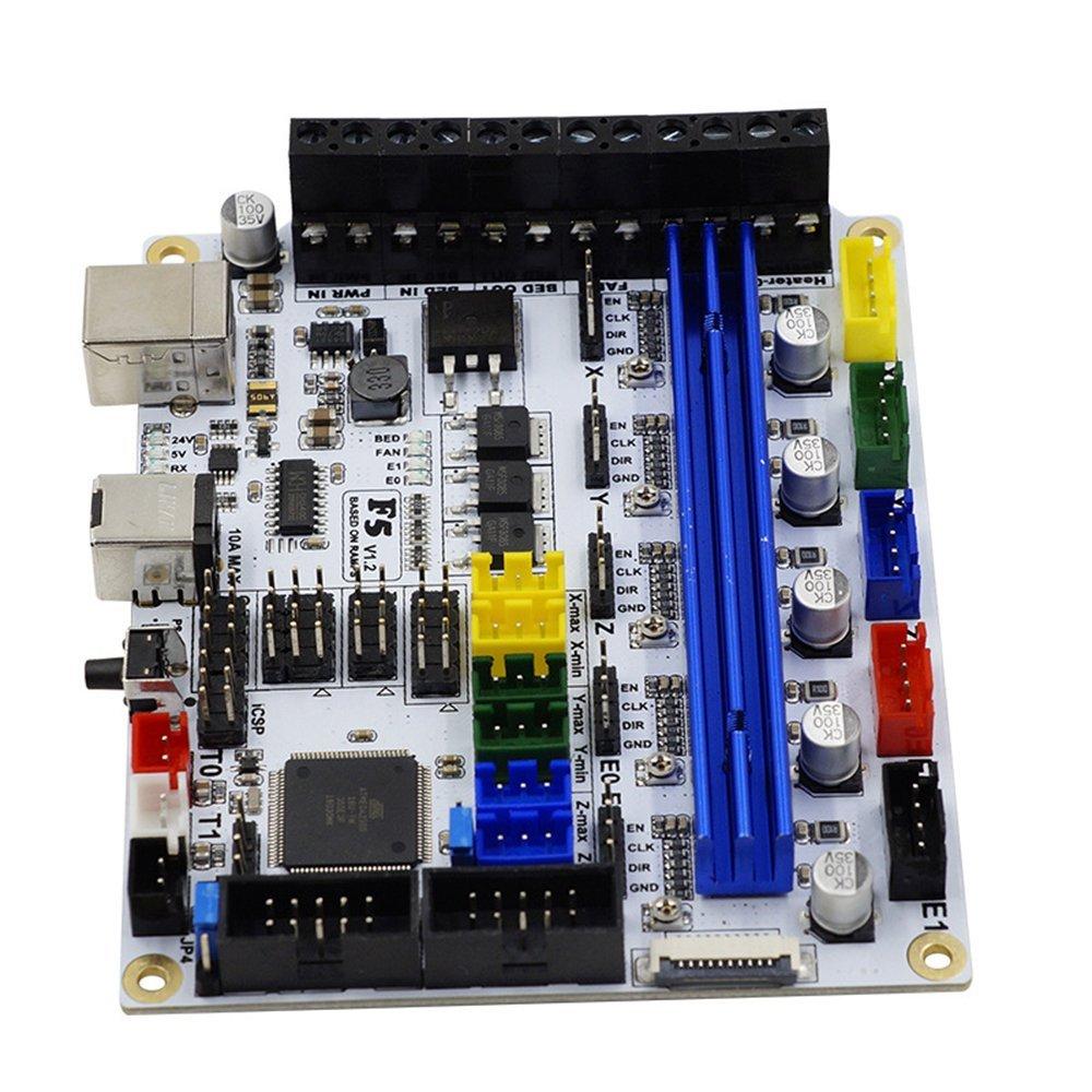 Placa Base Oficina Impresora 3D Impresión F5 V1.2: Amazon.es ...