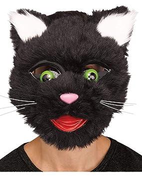 Horror-Shop Máscara de Gatos en Estilo Comic |: Amazon.es: Juguetes y juegos