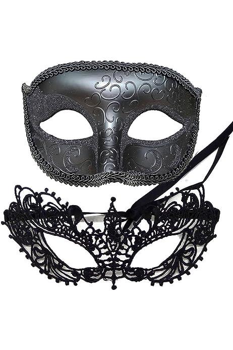 Mens Masquerade Ball Mask Ventian Costume Party Eye Mask Fancy Dress RAS