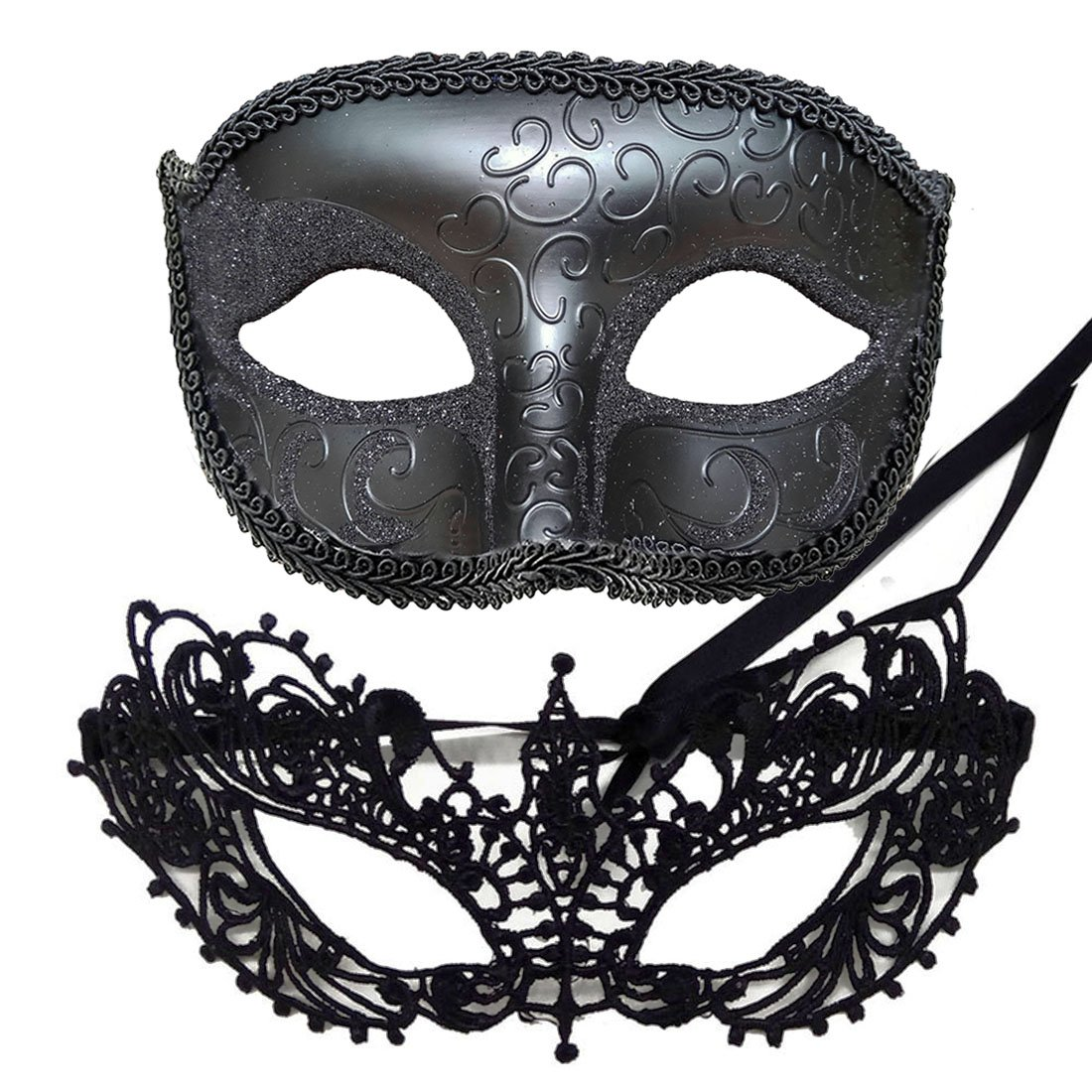 IDOXE Wonderful Mask for Couples Masquerade Ball Goddess Venetian
