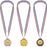 Or Argent Bronze Métal de Style Olympique Médailles du Gagnant Or Argent Bronze Prix