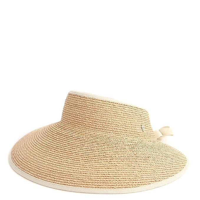 4c410098 Helen Kaminski Mai Visor Sun Hat 27554 Natural/Sand: Amazon.ca: Clothing &  Accessories
